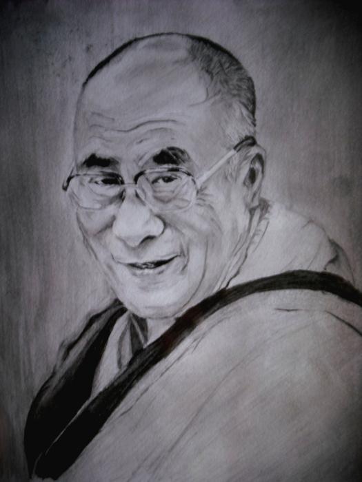 Dalai Lama par Ikigami